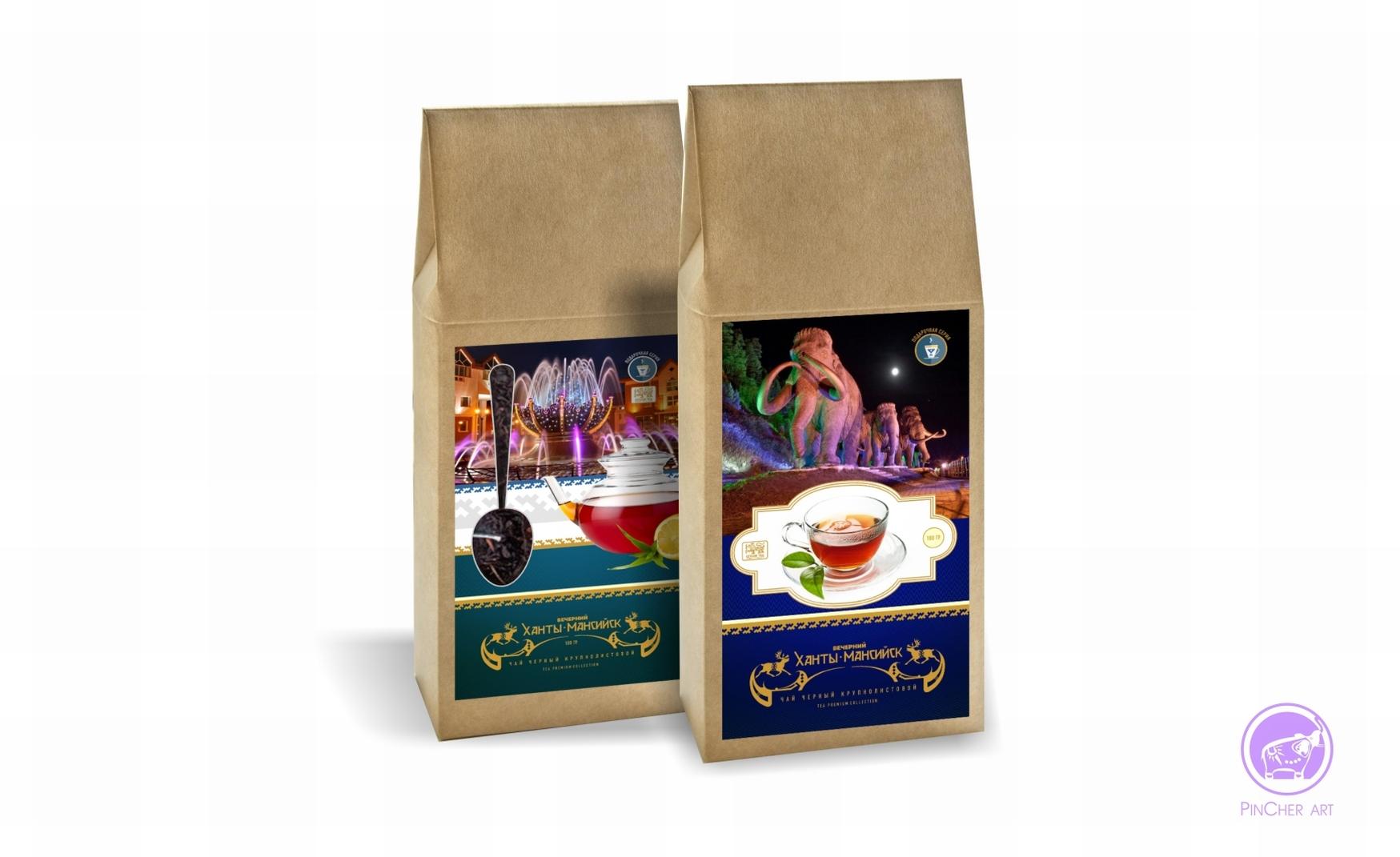 сувенирная упаковка чая хмао