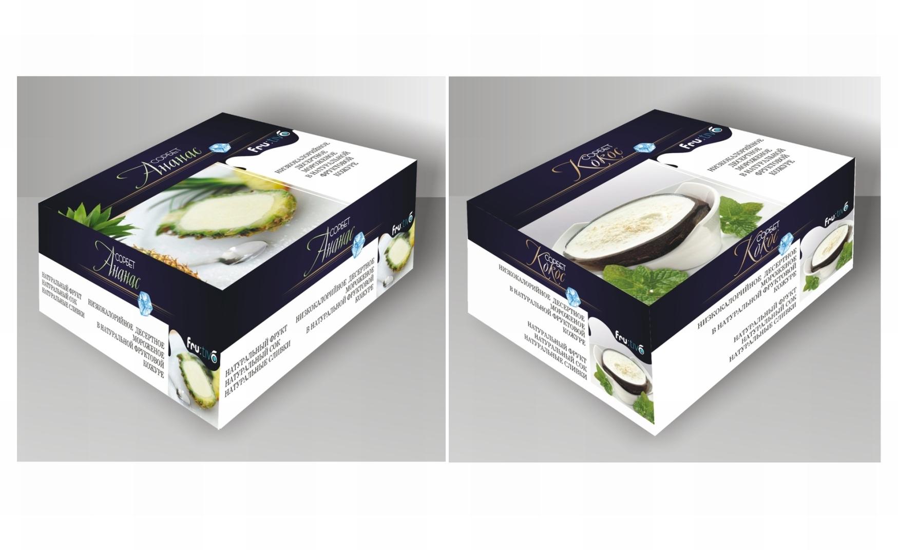 упаковка дизайн заморозка