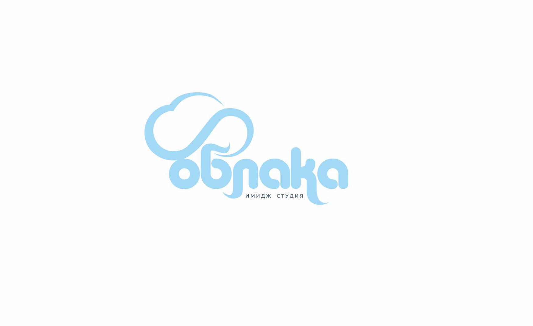 айдентика логотип облака